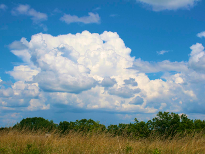 Summer clouds in Connecticut