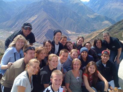 Service trip to Peru