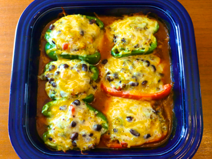 Mexican Stuffed Pepper recipe, Mexican Stuffed Peppers recipe