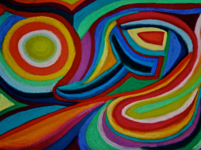 Polly Castor abstract art