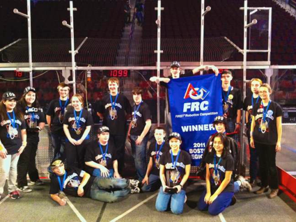 FIRST Robotics Boston Regional winners