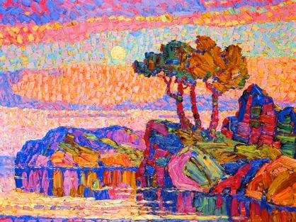 Birger Sandzen art