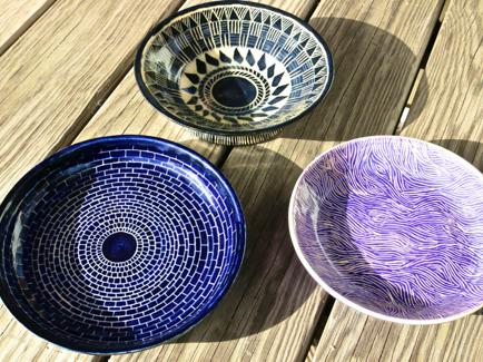 Sgraffito pots, Sgraffito pottery