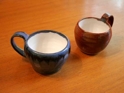 Hand made mugs
