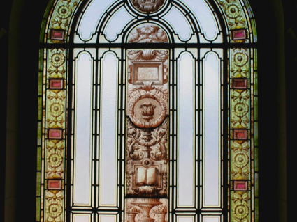 The Mother Church stained glass