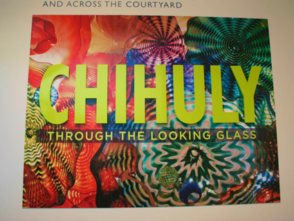 Chihuly Glass exhibit