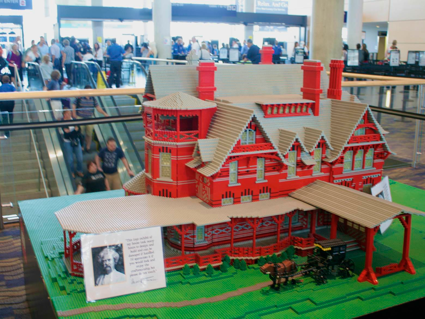 Mark Twain's House in Lego