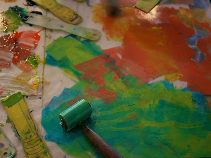 print making creative art camp