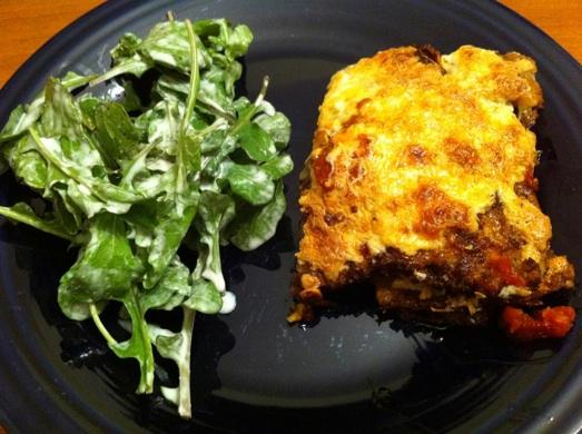 My Vegetable Lasagna