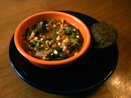Soup with Swiss Chard