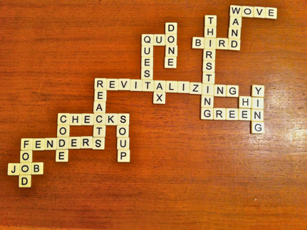 playing bananagrams