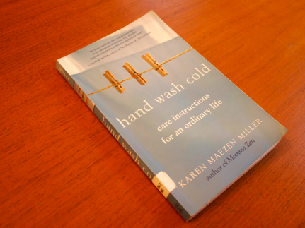 Hand wash cold book