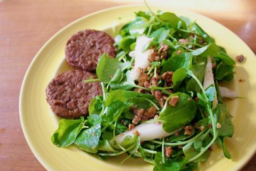 walnuts in salad