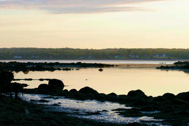 sunrise in Maine