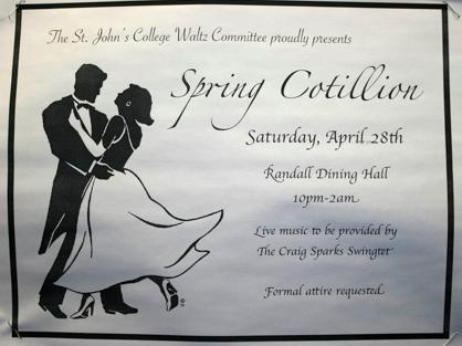 Spring Cotillion St. John's college