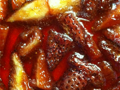roasted strawberries, roasted strawberries recipe