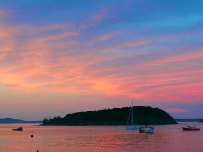 Bar Harbor Sunset