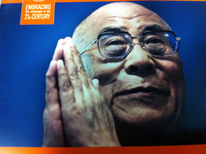 Today I Heard the Dalai Lama Live! | Polly Castor