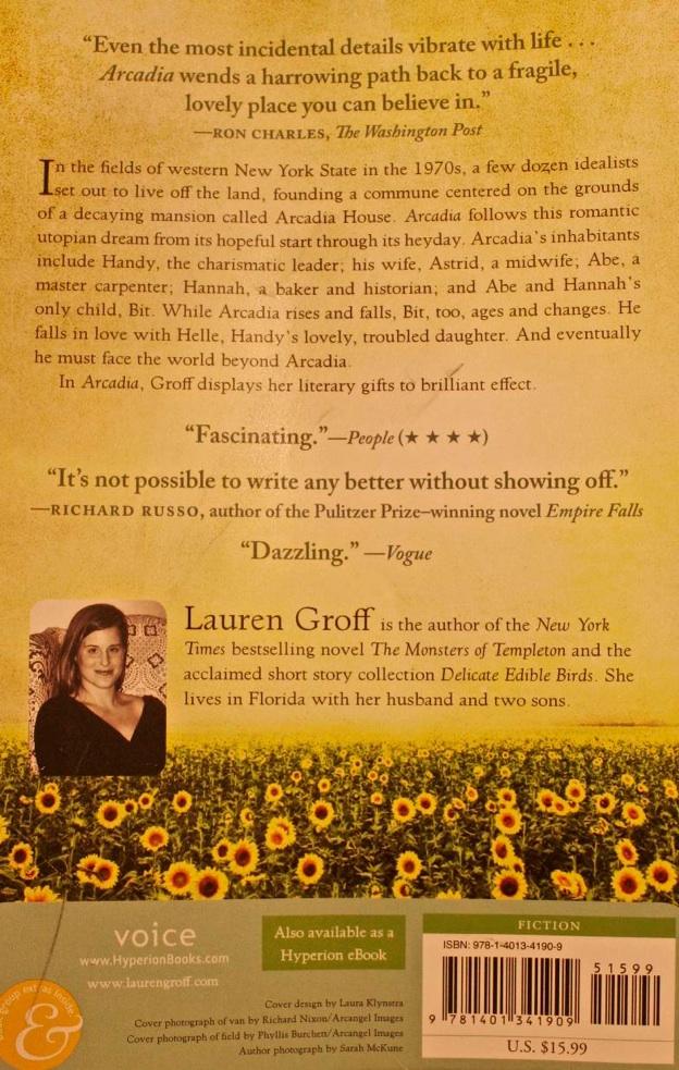 Arcadia Lauren Groff