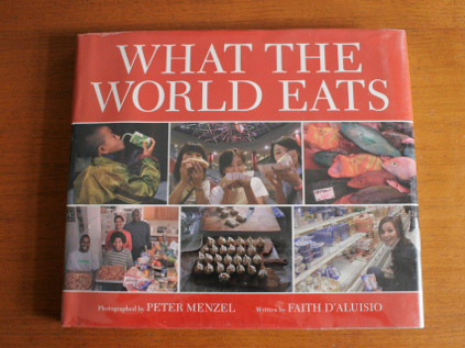 food for a week, what the world eats book