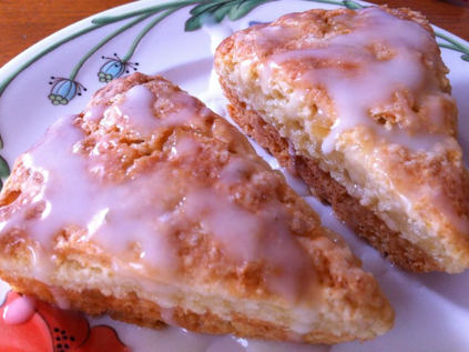 Lemon Ginger Scones, Lemon Ginger Scones recipe