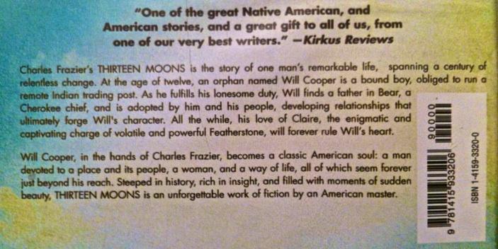 Thirteen Moons book review