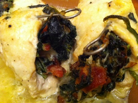 spinach chicken stuffed