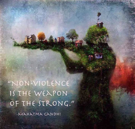 non-violence-is-weapon-of-strong