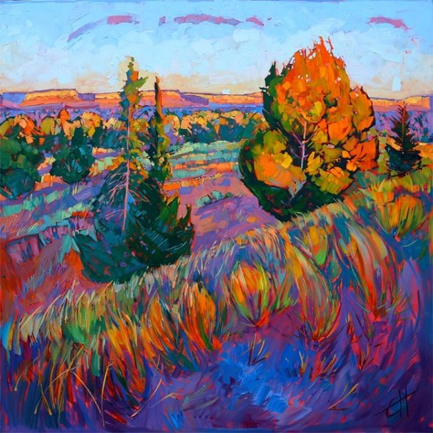 oil-landscapes-transformed-into-mosaics-of-color-by-erin-hanson
