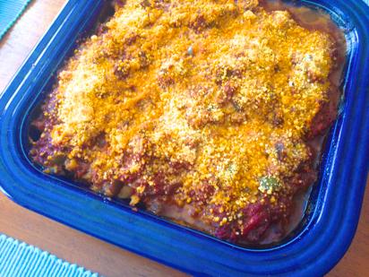tilapia casserole, eggplant sauce recipe
