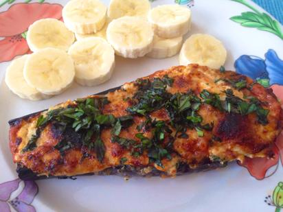 broiled eggplant parmesan, quick eggplant parmesan