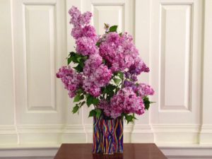 The Outrageous Vase I Made for Lilacs