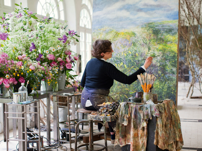 Studio of French Floral Artist Claire Basler