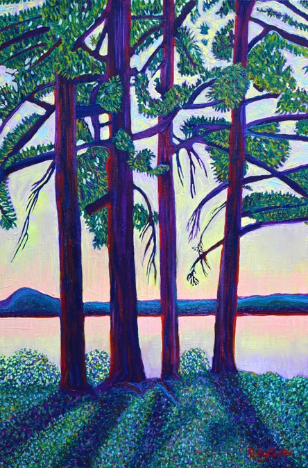 Polly Castor oil paintings