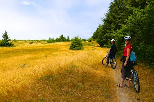 California coastal bike trail