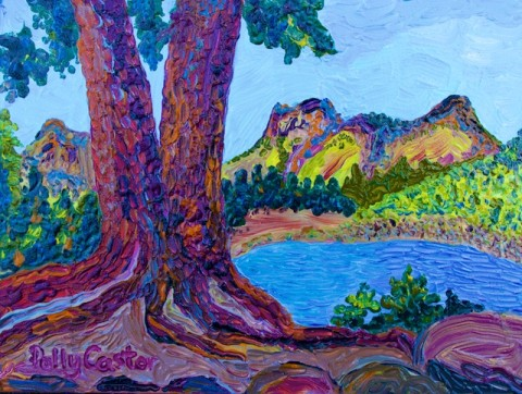 Plein Air Painting in the California National Parks