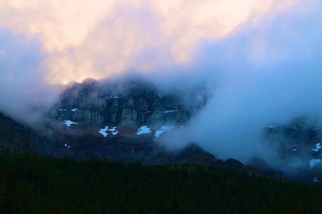 Banff in the Rain
