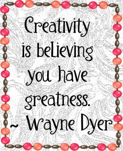 creativity b