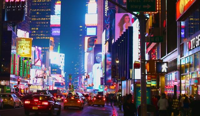 Photos of New York City at Night