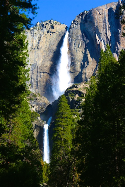 Hike to Lower Yosemite Falls
