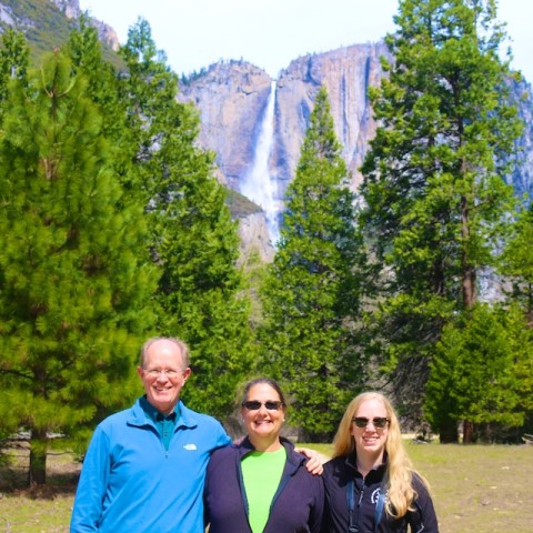 Hike to Upper Yosemite Falls