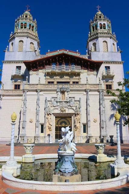 Photos outside of Hearst Castle