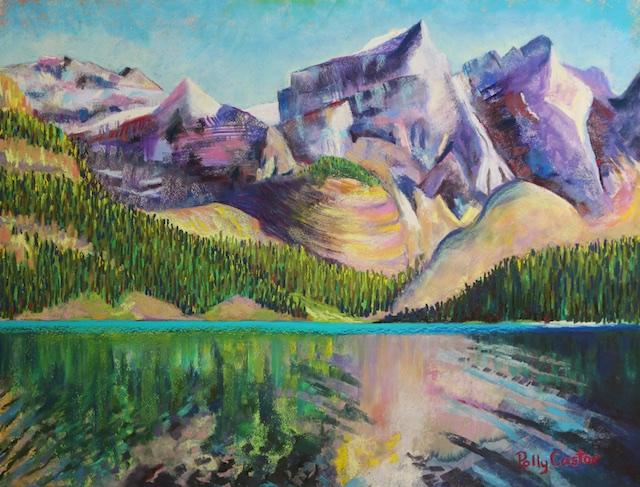 Painting of Moraine Lake