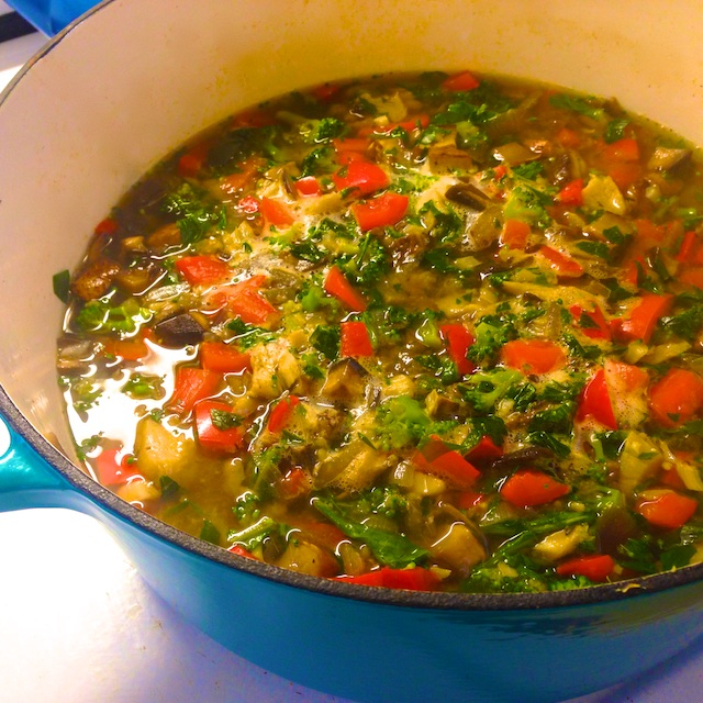 Cod and Veggie Soup