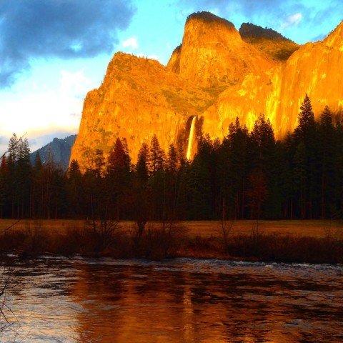 Amazing light in Yosemite