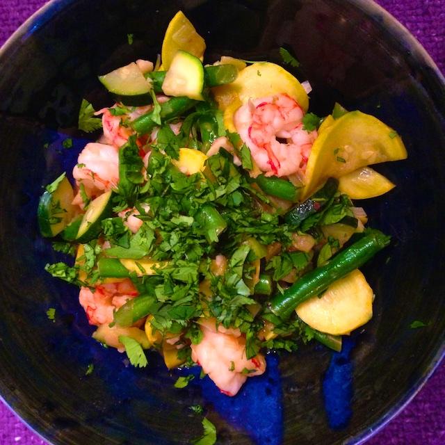 recipe shrimp veggie stirfry
