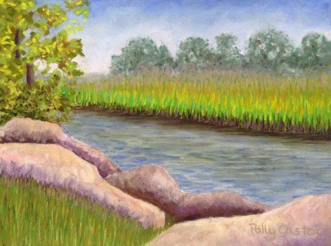 Plein Air Pastel Paintings
