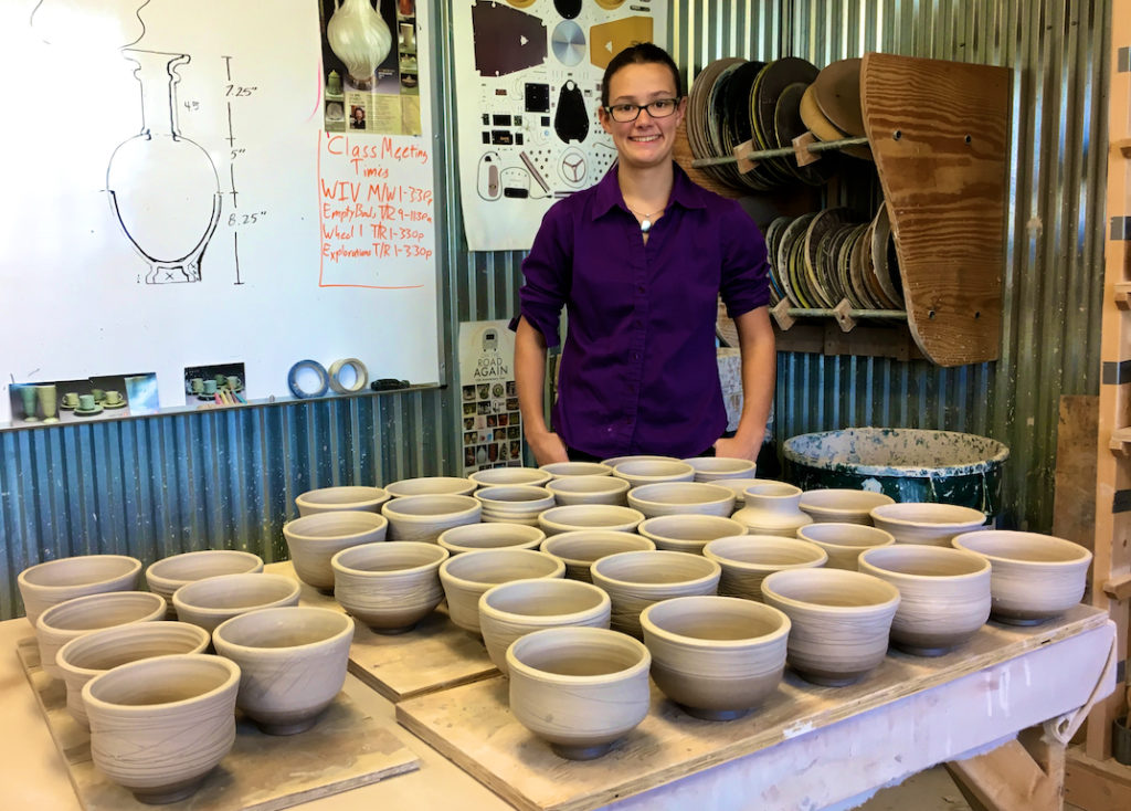 Our Daughter's Empty Bowls project