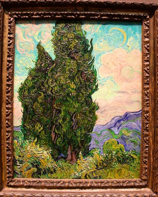 Van Gogh up close, close up photos of van Gogh paintings