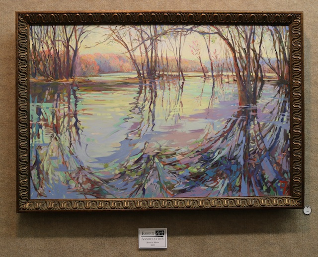Awarded Best in Show: Spring's Rush (oil) by Lisa Tellier